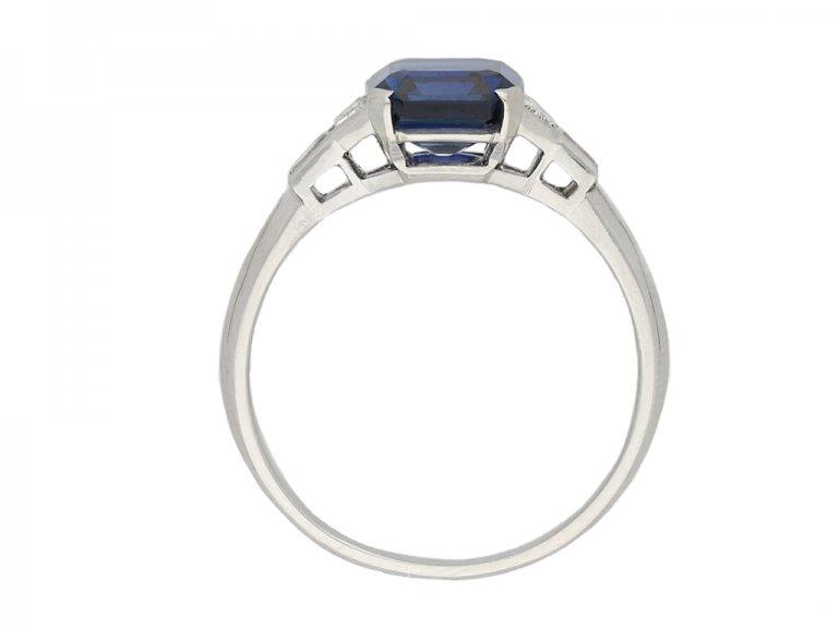 Tiffany & Co. sapphire and diamond ring berganza hatton garden