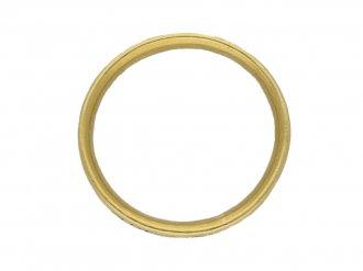 Gold memorial ring berganza hatton garden