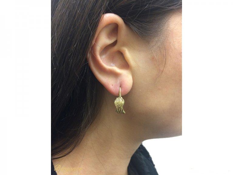 Ancient Greek Thracian earrings berganza hatton garden