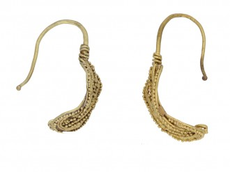 Ancient Greek Thracian earrings berganza hatton garden