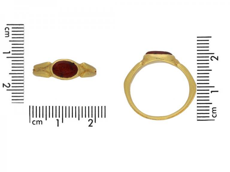 Ancient Roman intaglio ring
