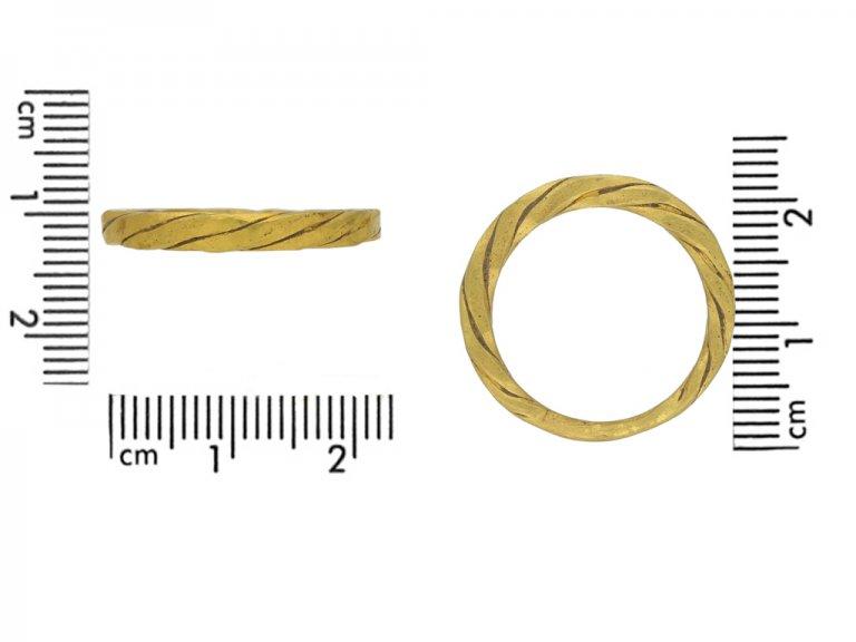 Viking twist ring berganza hatton garden