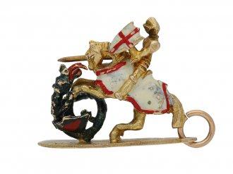 Saint George dragon pendant Georg Jenson berganza hatton garden