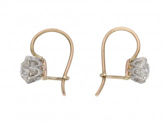 Old mine diamond earrings berganza hatton garden