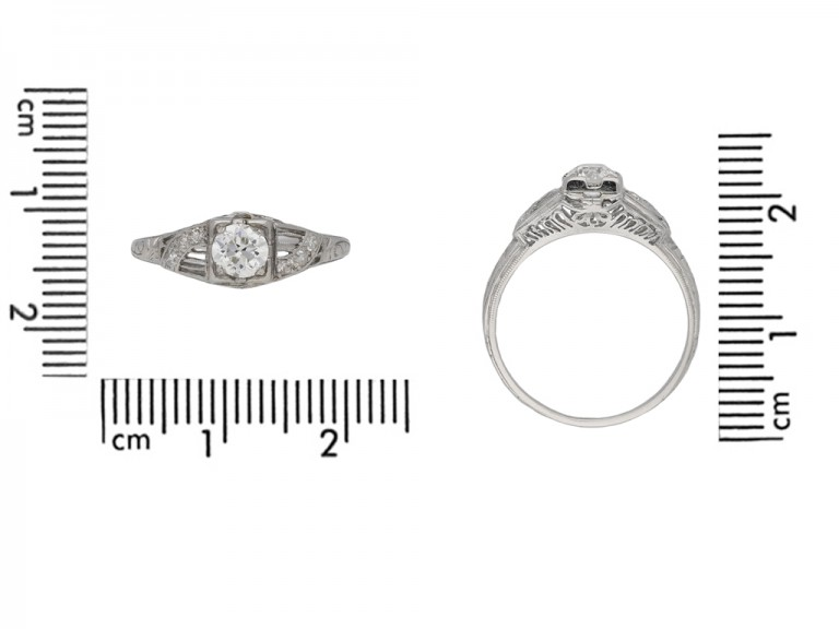 Old cut diamond engagement ring berganza hatton garden