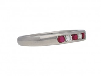 Oscar Heyman Brothers ruby diamond ring berganza hatton garden