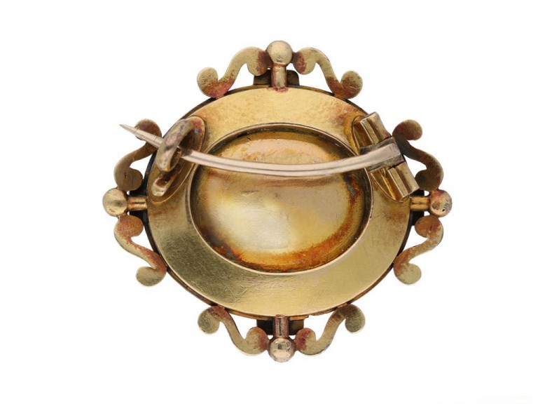 antique amethsyt brooch Carlo Giuliano berganza hatton garden