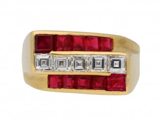 oscar heyman diamond ruby ring berganza hatton garden