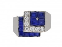 tiffany diamond sapphire ring hatton garden berganza