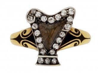 diamond spinel ring berganza hatton garden