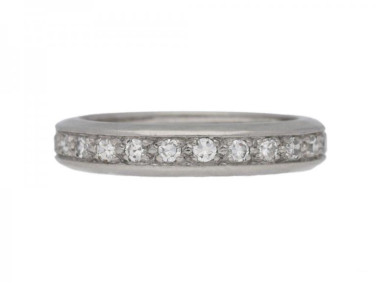 antique diamond eternity ring berganza hatton garden