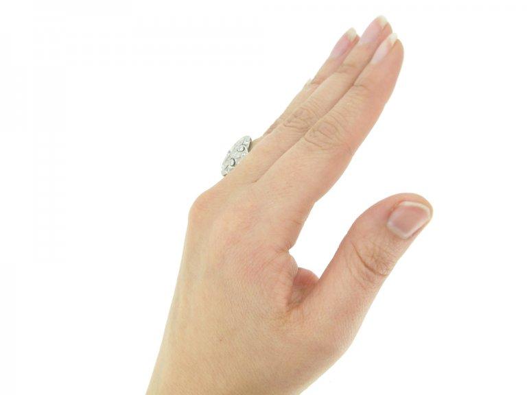 Round marquise diamond ring berganza hatton garden