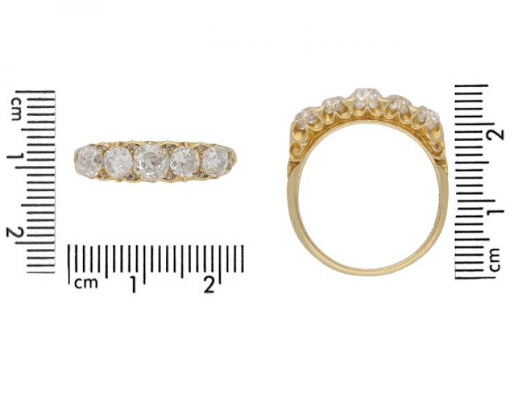 antique H.L.Brown Son  diamond ring hatton garden berganza