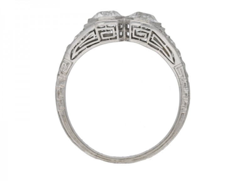 Kohn Art Deco diamond ring hatton garden berganza