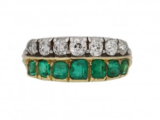 antique emerald diamond ring berganza hatton garden